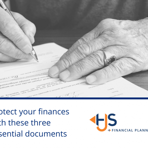 Protect your finances with three essential documents